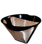 #4 Cone Shaped Coffee Filter, 10-12 Cups, with finger grip