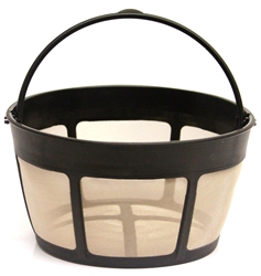 Basket Shaped Coffee Filter, 10-12 Cups,  screen bottom